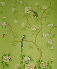 Hand-printed Wallpaper