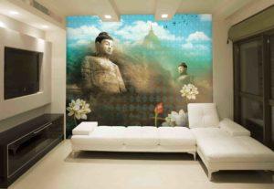 The Buddha designed by Krsna Mehta