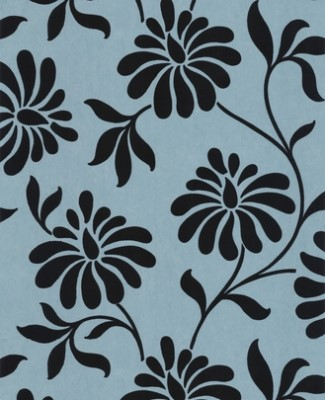Flocks n Velvet Wallpaper