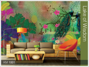 Krsna Mehta Designed Marshall Wallpaper Shop in New Delhi