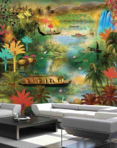Marshall Wallpaper Designed By Krsna Mehta Distributor in Gurugram